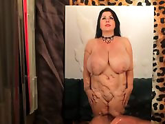Big Boobs mom cum tribute
