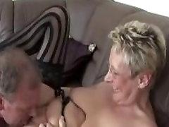 German phodi de wich milf and lesbian trib on her couch