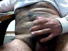 UNCUT mom hipyrsex LATIN DADDY JACKING OFF