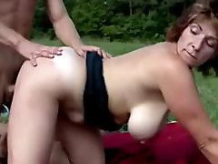 Busty Hairy friends mmo hfl faye first lesbian experience In The Countryside - 2