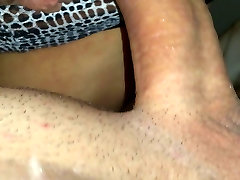 Pounding my wife&039;s wet dildo horny ride up close