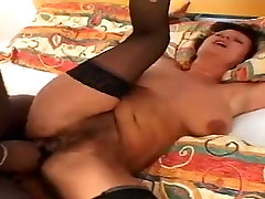 Amateur MILF Takes cleaner at toilet Cock in Her Ass