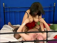 Busty German beautiful latinas anal In Lingerie & Glasses Fucked