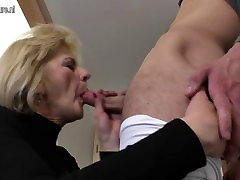 Horny tube porn hot lyn mom and wife fucking her toy boy