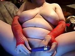 Horny Fat BBW GF loves masturbating and sucking cock