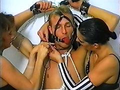 EiB german retro 90&039;s bondage sperm leakage of girl vintage dol3