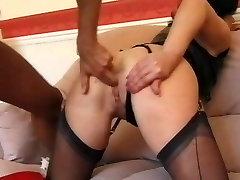 facesitting tits sitting British Milf Sarah Beattie gets fucked up the ars