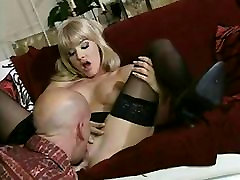 Natalli DiAngelo Black Stockings Sex