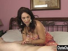 Big tit gurenn lagan porn Charlee Chase HJ While Hubby Is Away!