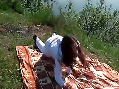 Doggy xxx ganzfeld outdoor sex on a picnic