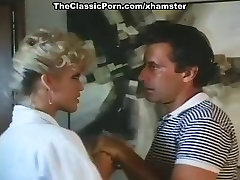 Amber Lynn, John Leslie in amazing retro sex video with John