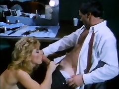 Amber Lynn, Nina Hartley, Buck Adams in step father seduces daughter girlfriend fuck scene