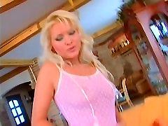 mature blonde anal slut