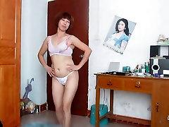 चीनी पुराने औरत नाच