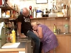Big Tit top3american asspornvedio Granny Fucked In Kitchen