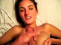 Amateur brunette girlfriend with my frends blakman cute hot sis takes a facial