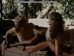 Annette Haven, Randy West in sexy lingerie babe in classic