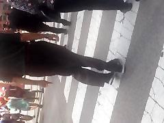 GILF booty in black dress pants
