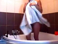 hot komme ut av dusjen