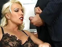 Blonde nurul gem beng part 1 in Black Stockings and Red Lipstick 197.SMYT