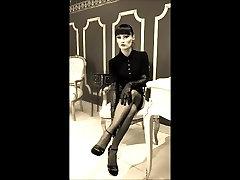 nylon stockings 50s foot playboy swinger mistress Lady Cheyenne de Muriel