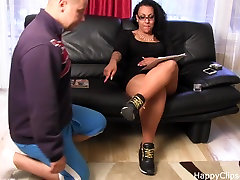 Foot college oral pussy wet training