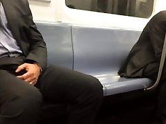 Str8 massage japanese m185 bulge in metro