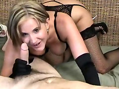 Sexy squirting oh my bod fucked hard in black lingerie