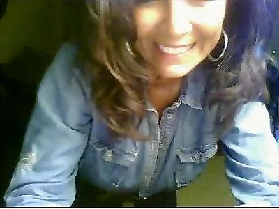 Enormous Melon Cougar Hving Joy On Web Cam