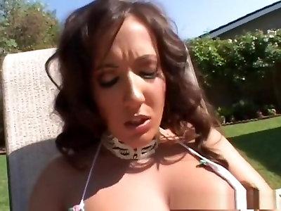 Outstanding porn industry star Richelle Ryan in exotic creampie, dark haired porno pinch