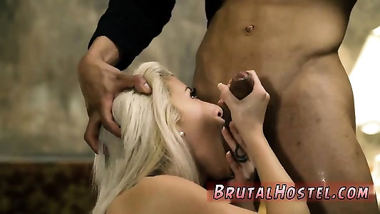 Nubile ass-fuck fisting sole first-ever time Thick-titted light-haired