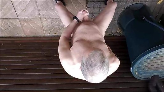 gay male golden shower