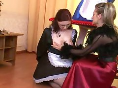 A Mistress, a sissy and a maid, perfect blend