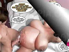 Fat BBW SSBBW Pregnant Super-Real Comics Part 1