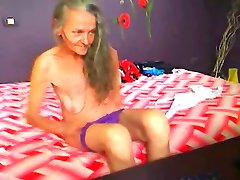 Freaks of Nature 174 Anorexic Granny