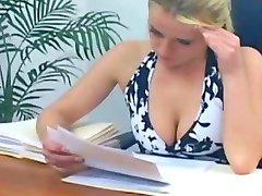 Office strapon girls scene1
