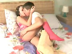 passionate young girl