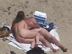Nude Beach - Couples Caught on Camera - voyeurs & helpers
