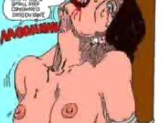 Strange And Evil Bondage Story bdsm bondage slave femdom domination
