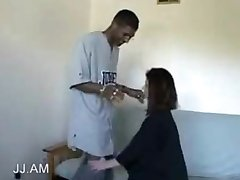 Amateur wife Interracial fuck with Husbands friend