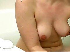 Hairy Girl In Bath Hour
