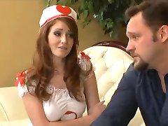 Naughty Housecall Redhead Nurse