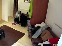Big dicked guy fucks maid in hotel room