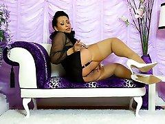 DANICA lingerie & heels
