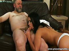 Old guy fucks his trophy wife