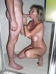 Real sexy mature mom having fun