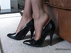 You know how it feels when you see a nice high heeled lady because the sight, the sound and the...