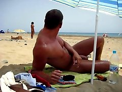 Male nudist beach hidden camera