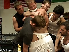 Everyone is enjoying their workout at the boxing gym when Alex Adams, a loud muscle-head, comes...