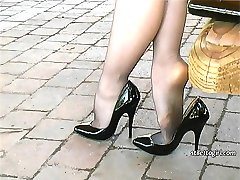Iona makes you respond to your own personal fetish for ladies heels, so you can enjoy her in...